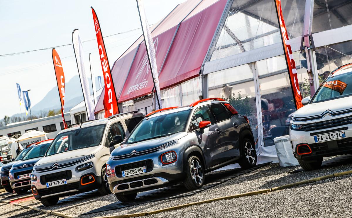 Citroën aspetta i fans al Tour de Corse