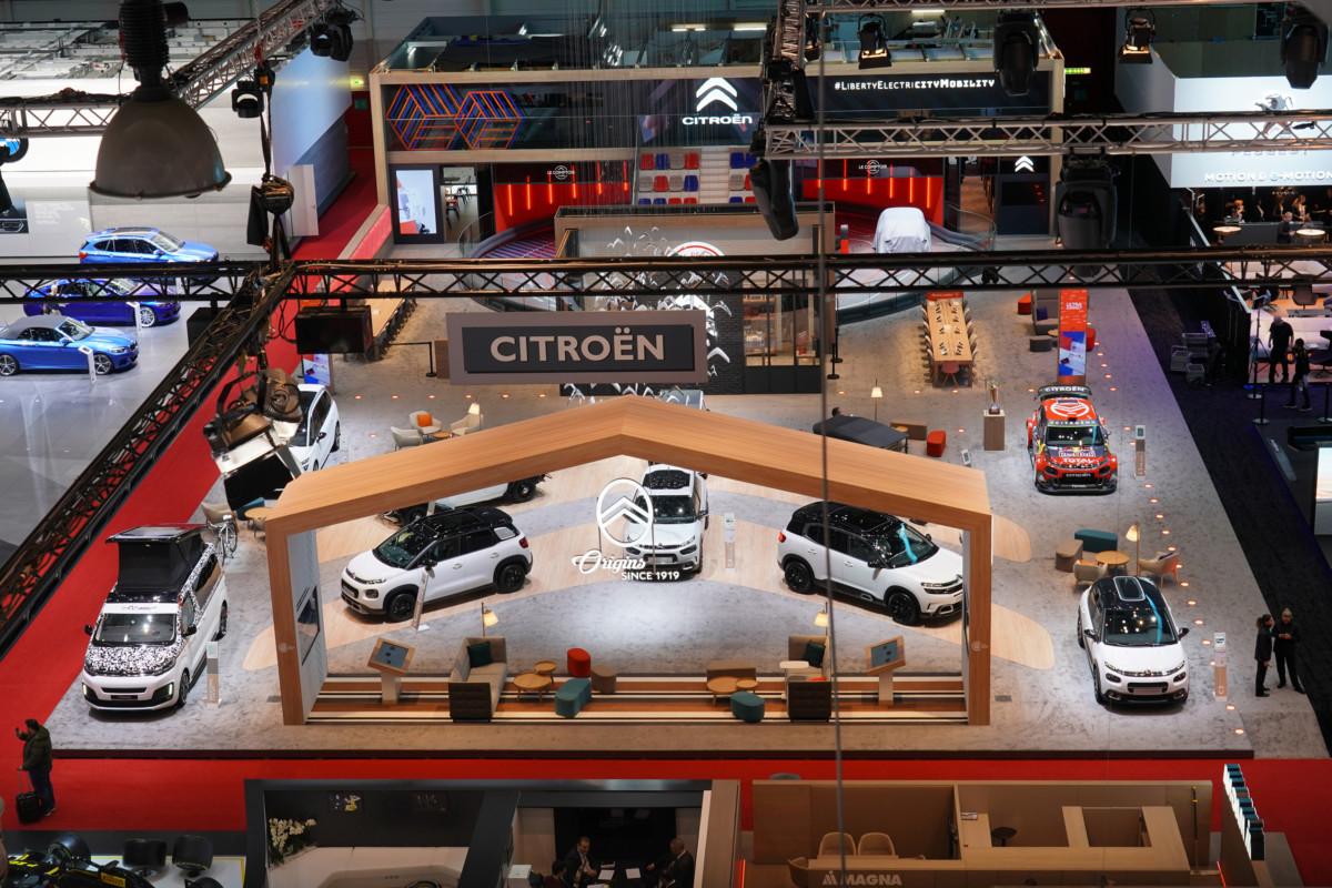 """""""La Maison Citroën"""" migliore stand a Ginevra 2019"""