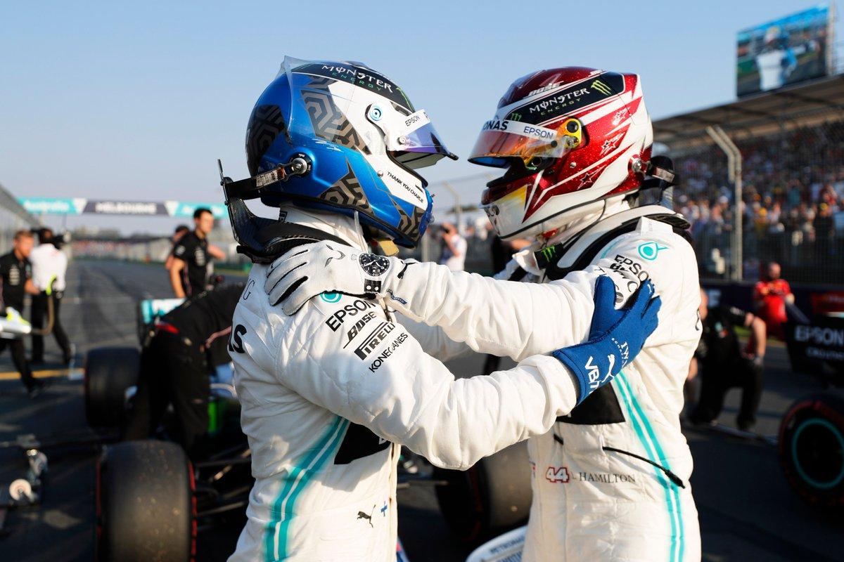 Australia: doppietta Mercedes in qualifica, Vettel 3°