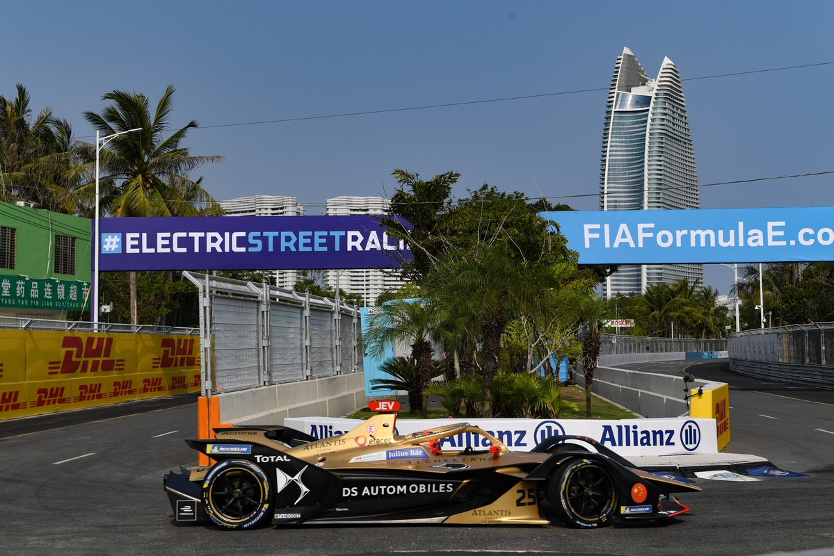 Formula E: DS TECHEETAH pronto per sfida di Sanya