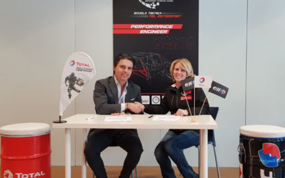 Collaborazione tra Total Italia e MTS Motorsport Technical School