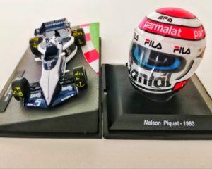 Il casco del Mondiale turbo di Nelson Piquet