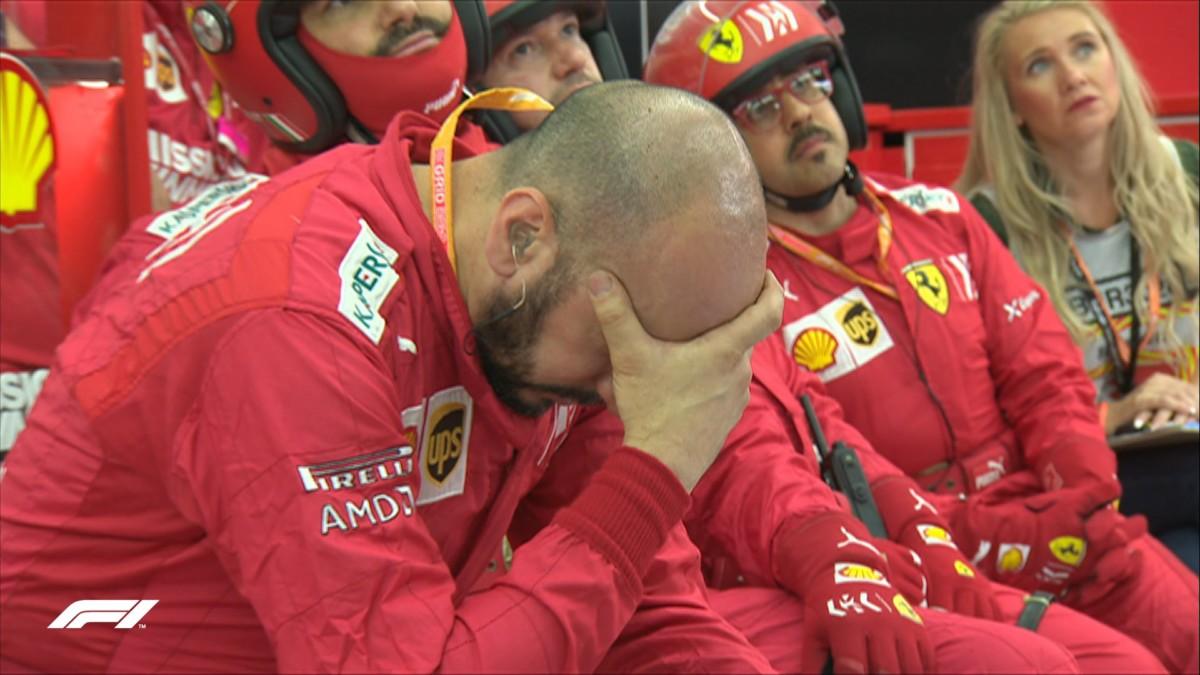 """Nel comunicato post-gara la Ferrari titola """"Bottino insufficiente"""". Solo?"""