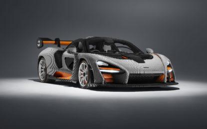 La prima McLaren Senna LEGO in scala reale