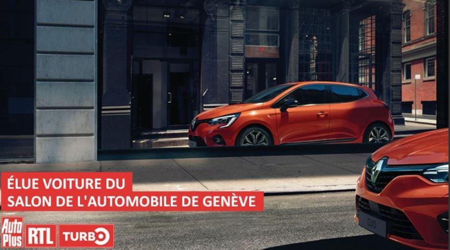 Nuova CLIO appena presentata e già premiata