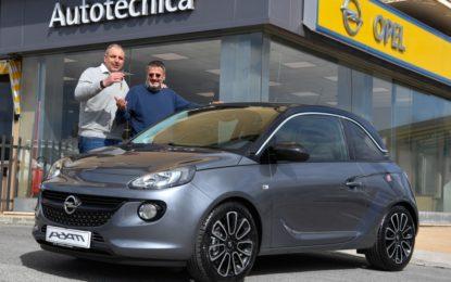 Consegnata la Opel ADAM Special Edition XF