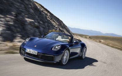 Porsche a Ginevra con 911 Cabriolet, 718 T e Macan S