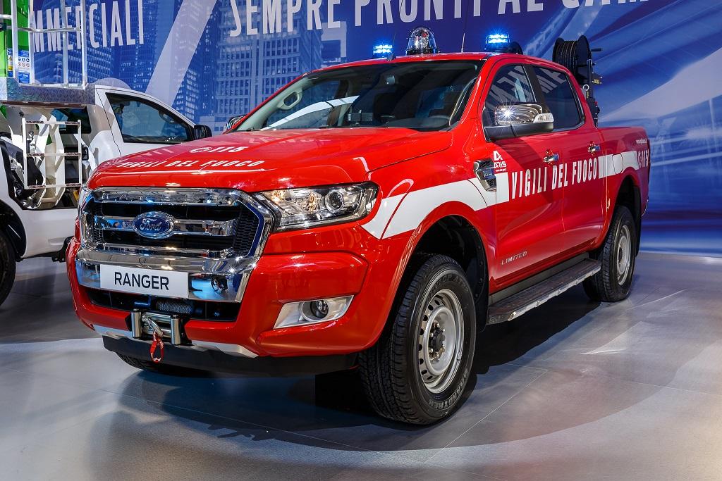 Ranger, il pick-up Ford best seller, ai Vigili del Fuoco