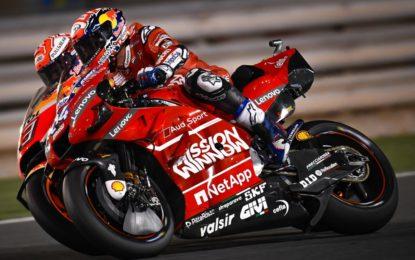 Qatar: Dovi, Marquez e Crutchlow sul podio. Grande rimonta di Rossi