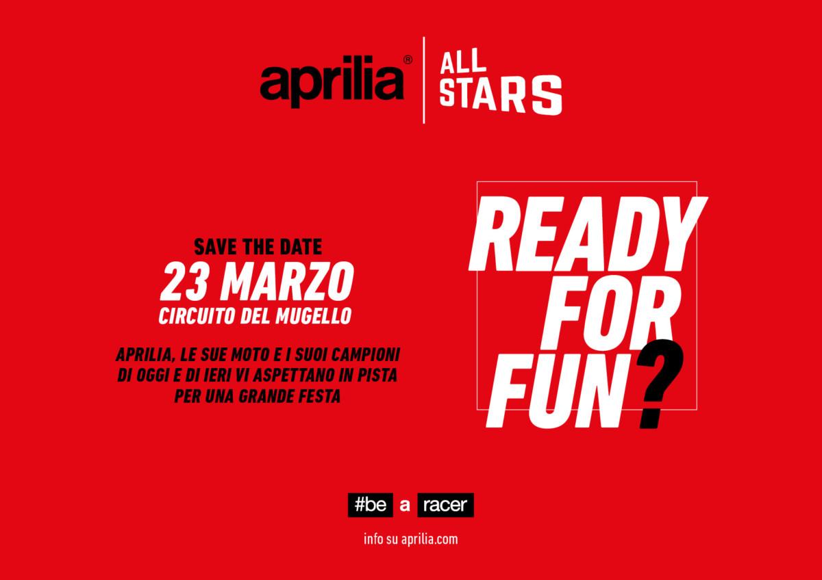 Aprilia: sabato 23 marzo la grande festa al Mugello