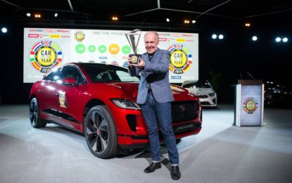 Jaguar I-PACE European Car of the Year 2019