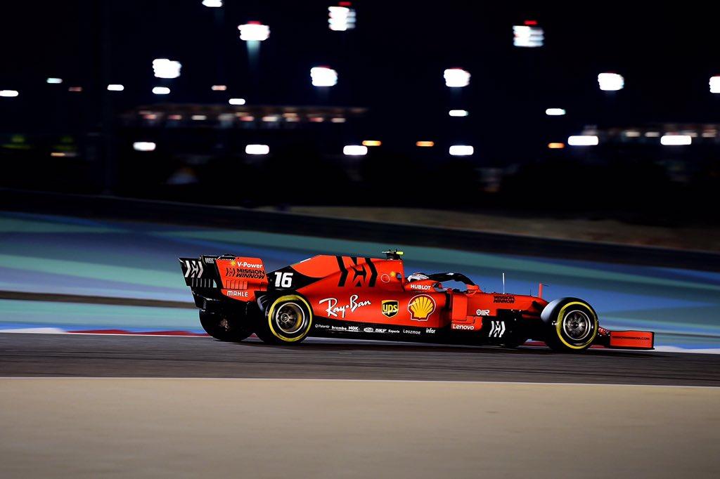 Bahrain: prima pole di Leclerc e prima fila Ferrari, Hamilton 3°