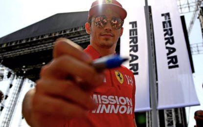 """Rossi: """"La pole di Leclerc è un bene per i fans"""""""
