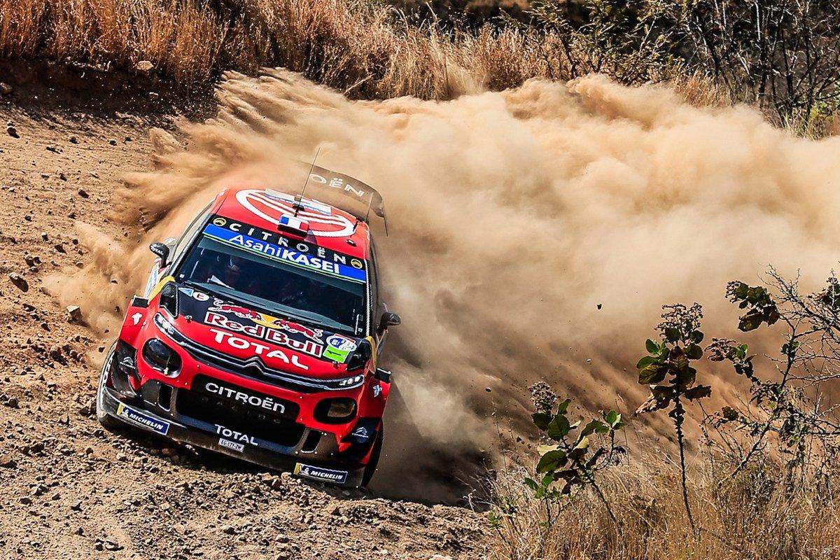 Messico: la C3 WRC di Ogier al comando