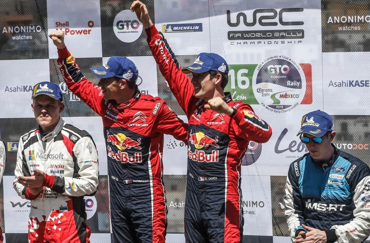 Messico: secondo successo stagionale per Ogier e la C3 WRC