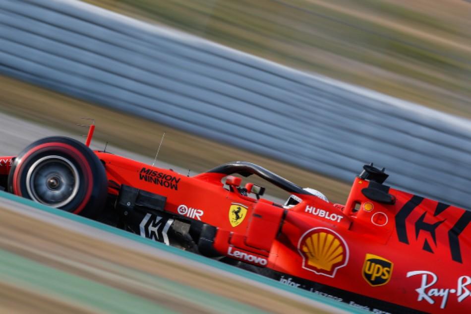 Mission Winnow scompare dal nome della Ferrari