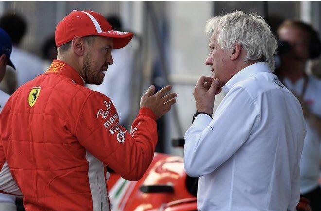 La Scuderia Ferrari ricorda Charlie Whiting