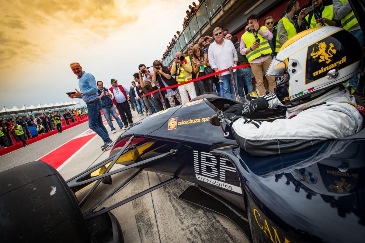 Grandi nomi del motorsport all'Historic Minardi Day