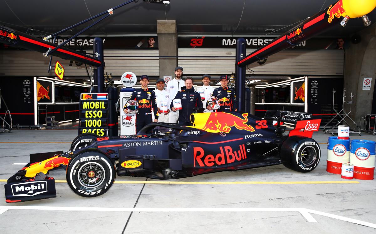 ExxonMobil celebra le sue 1000 gare in F1