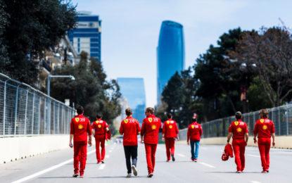 Baku: Vettel e Leclerc convinti del pacchetto Ferrari
