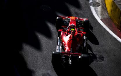 Baku: Ferrari davanti, ma dati difficili da interpretare