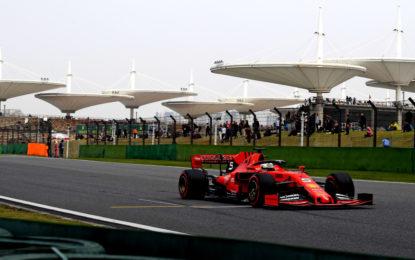 Cina: 2° e 7° tempo per Vettel e Leclerc a fine venerdì