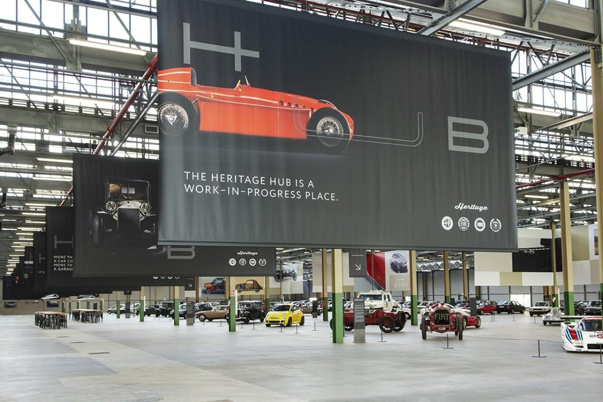 Heritage HUB: tutto il patrimonio FCA in uno spazio unico