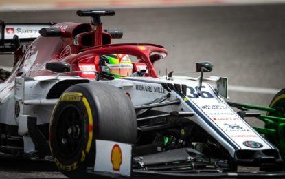 Welcome to Alfa Romeo Racing, Mick!