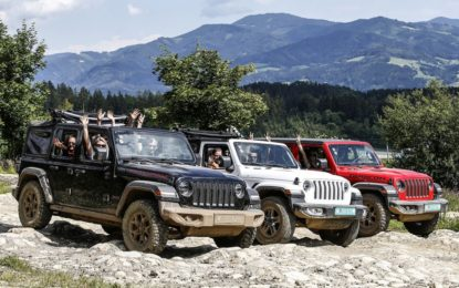 Jeep 4×4 Day: divertimento e istruzioni per l'off-road