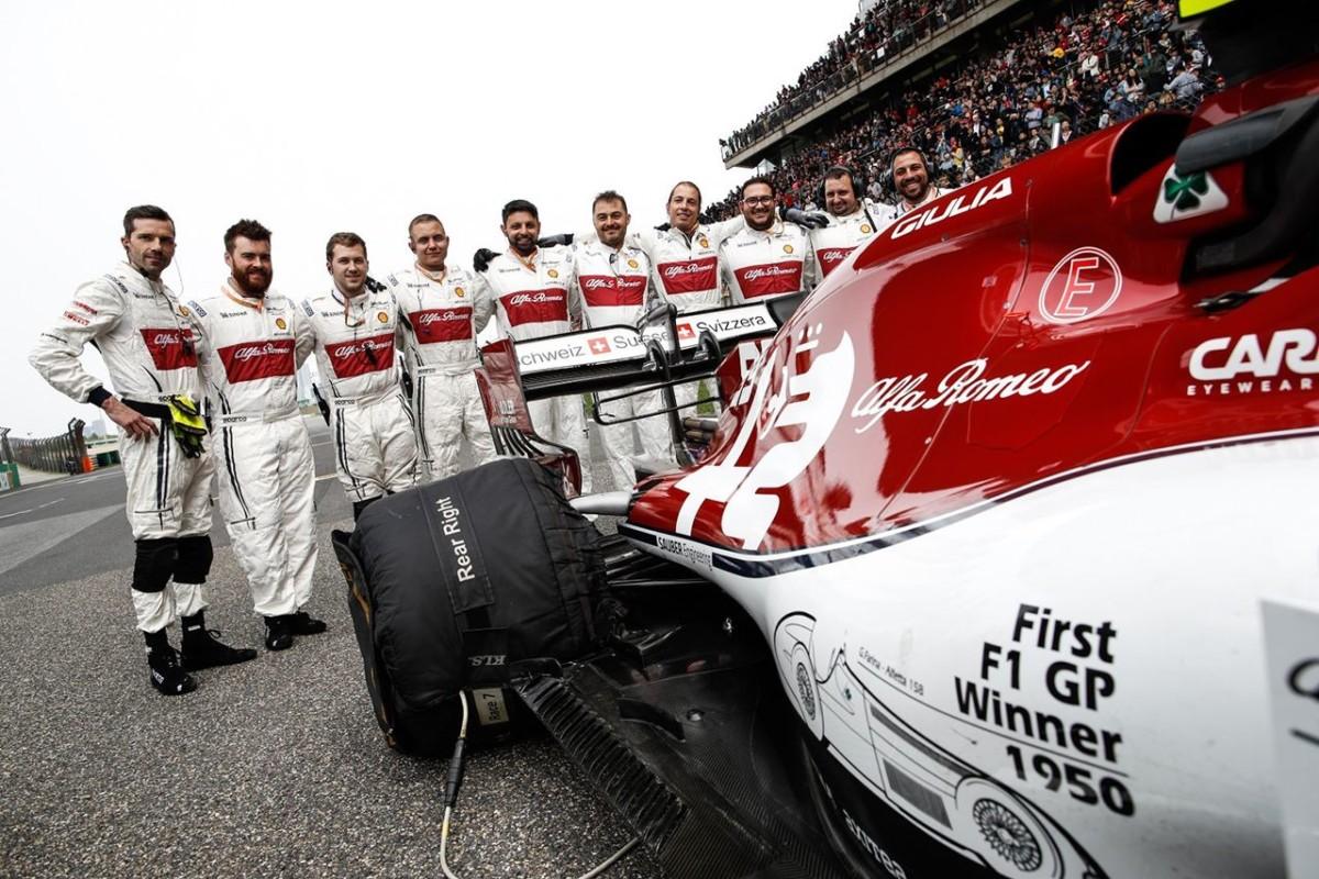 Vasseur: l'importanza del brand Alfa Romeo e obiettivo podii