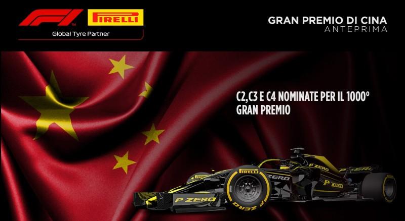 Anteprima Pirelli GP Cina 2019, il numero 1000!