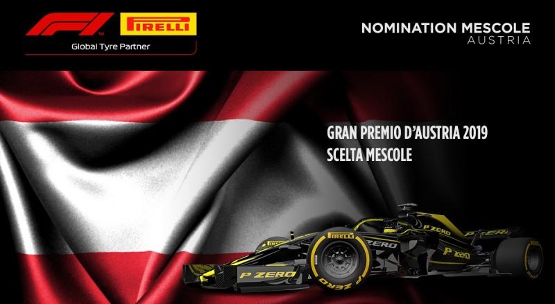 GP Austria 2019: le mescole nominate da Pirelli