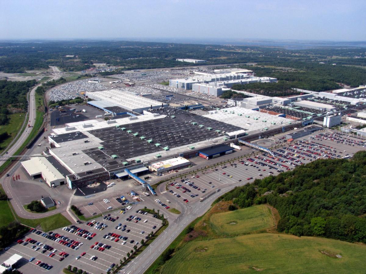 Volvo: nuovo reparto di carrozzeria a Torslanda