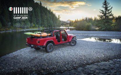 Camp Jeep 2019: anteprima europea della nuova Gladiator