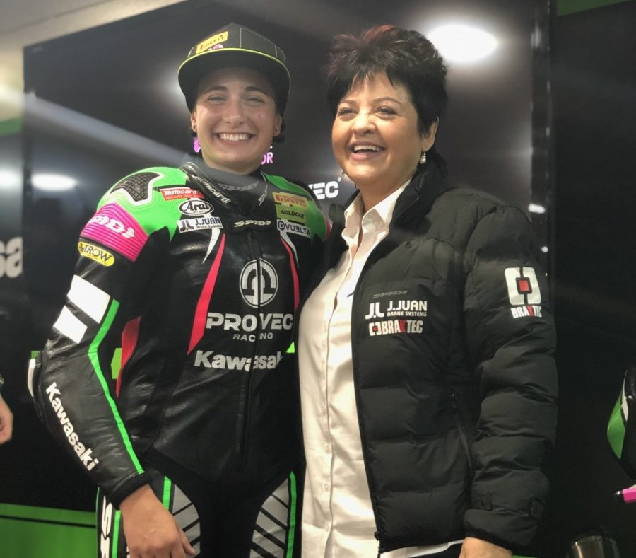Ana Carrasco e J.Juan insieme anche nel 2019