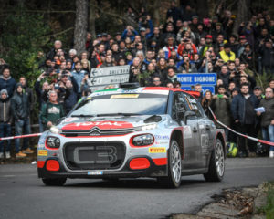 Citroën quarta al Rallye Sanremo