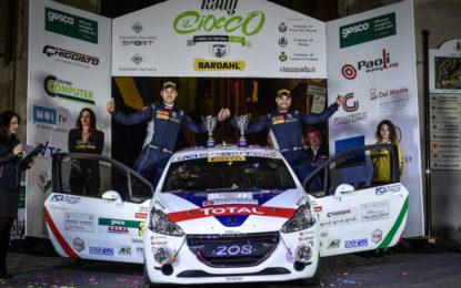 Ciuffi, Gonella e la Peugeot 208 pronti per il 66° Rallye Sanremo