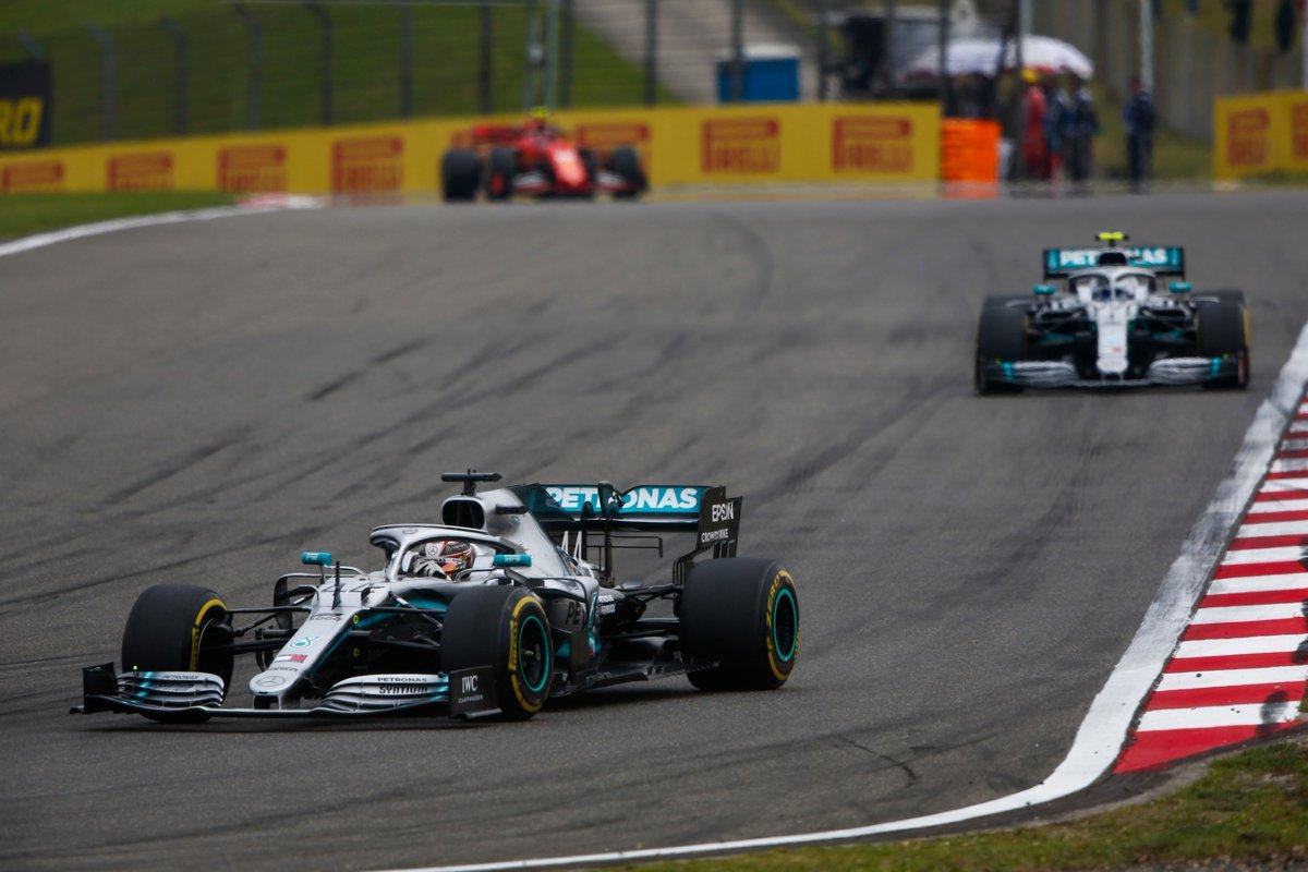 Cina: doppietta Hamilton-Bottas davanti a Vettel nella #Race1000