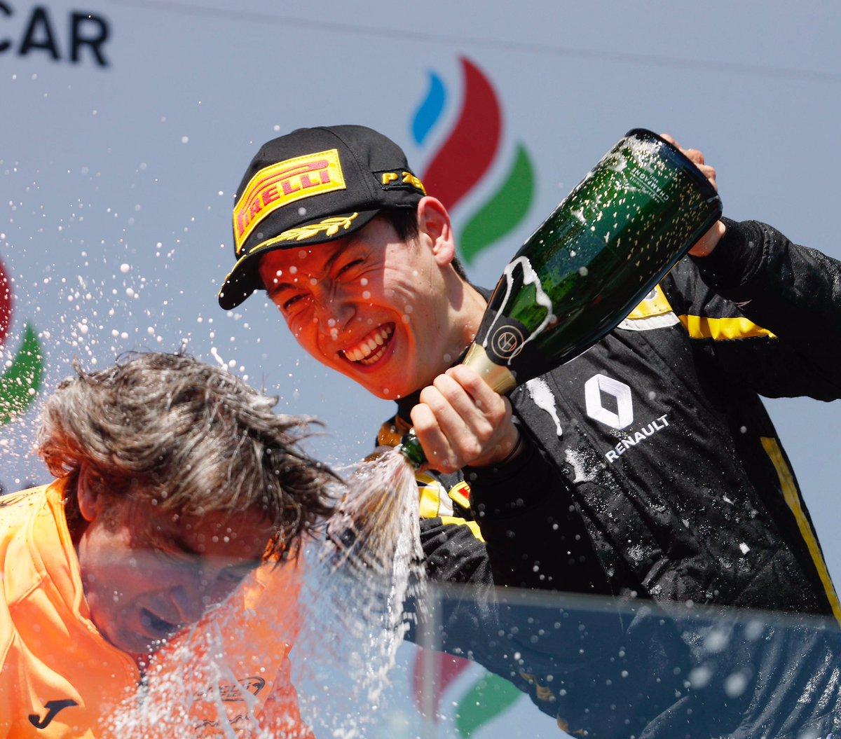 A Baku prima vittoria in F2 per Aitken nella Feature Race