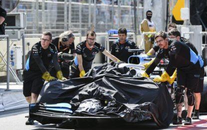 Tombino: per la FIA colpa del circuito. Raikkonen dà a tutti dei dilettanti