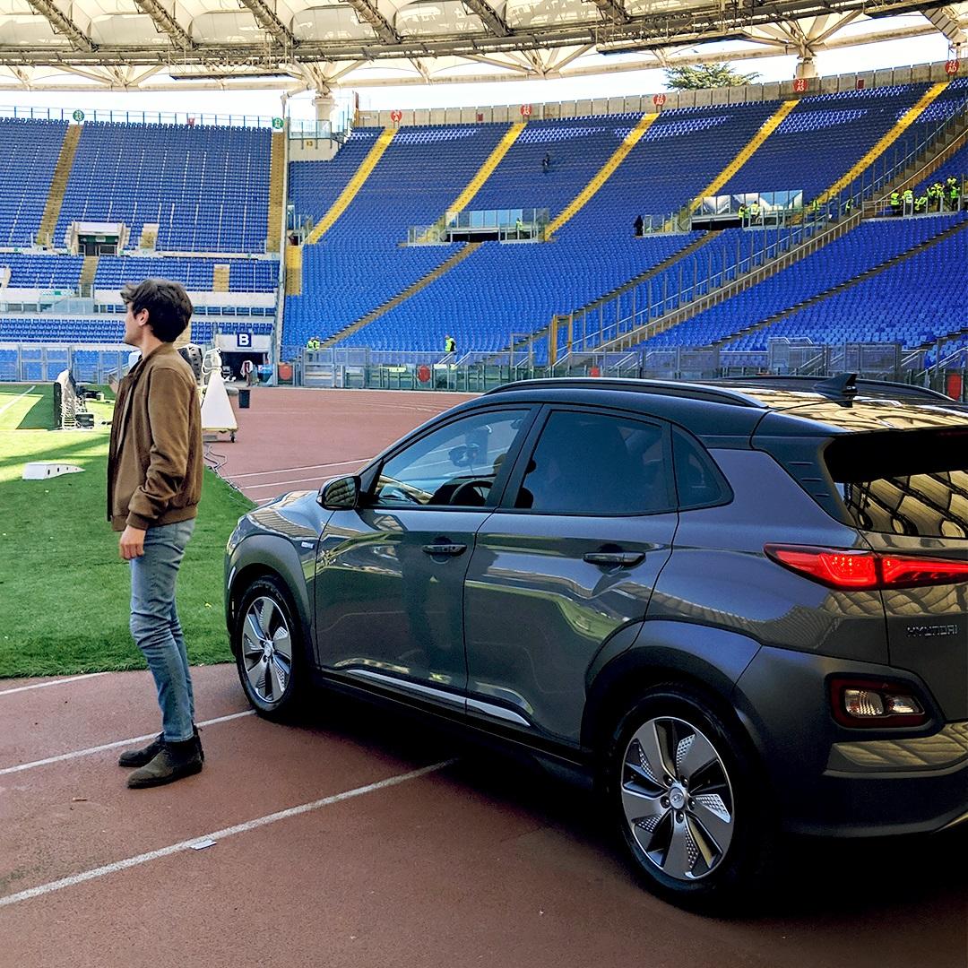 Hyundai, AS Roma e #lofacevopureio