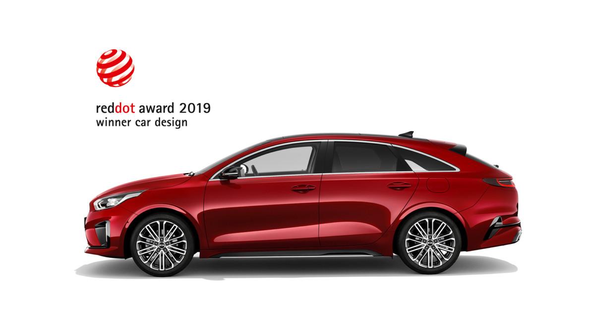 Red Dot Awards: un altro triplice trionfo per il design Kia