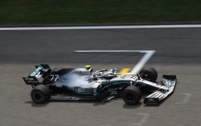Cina: il venerdì si chiude con Bottas-Vettel-Verstappen