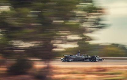 Formula E: per Porsche più di 1000 km di test a Calafat