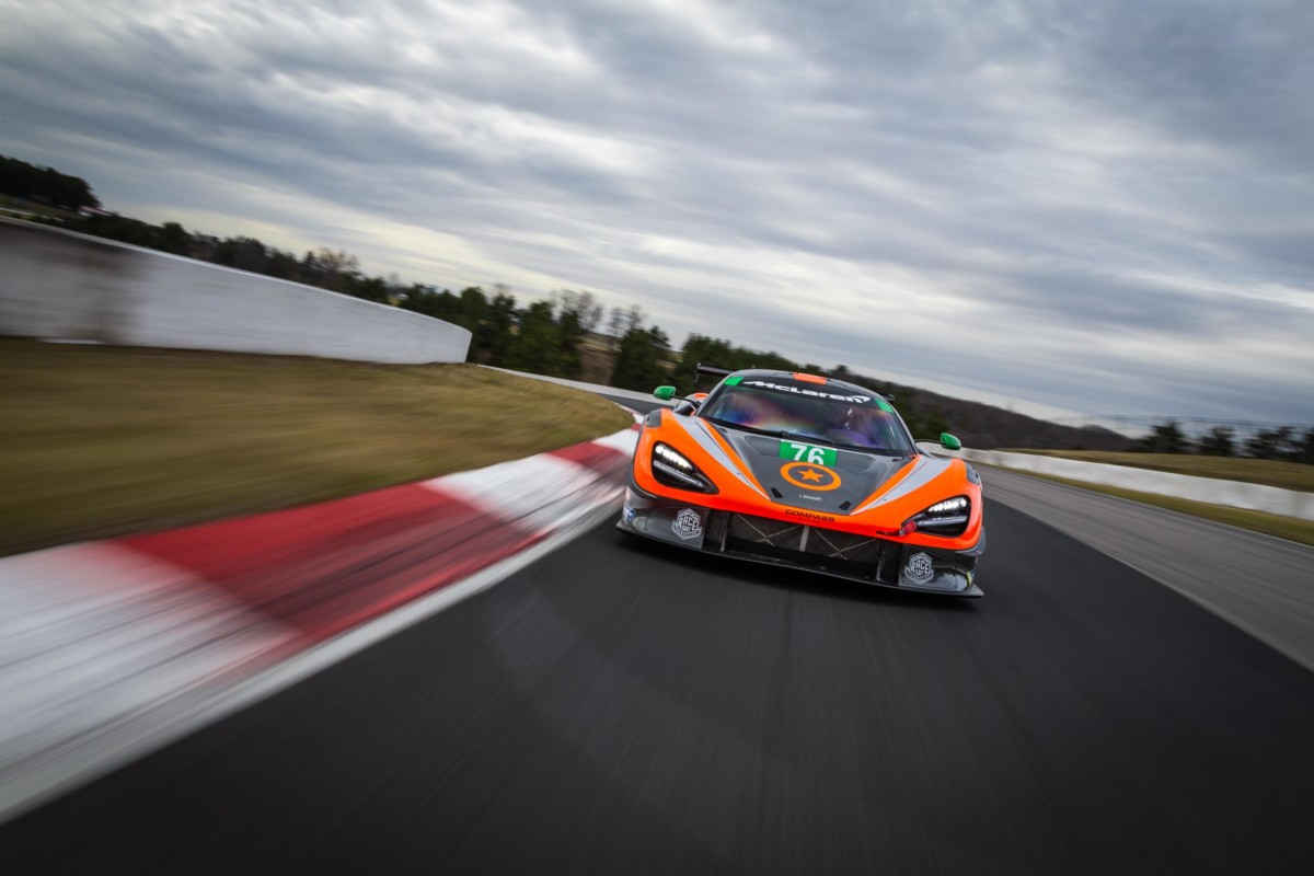 McLaren Automotive: accordo pluriennale con IMSA SPORTSCAR