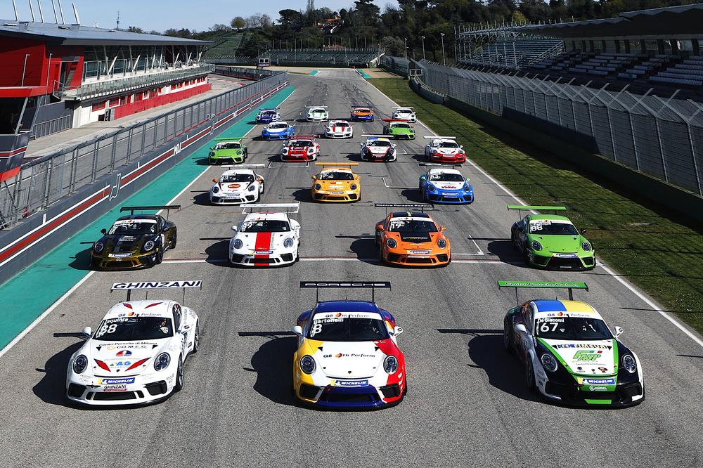 Porsche Carrera Cup Italia live da Monza