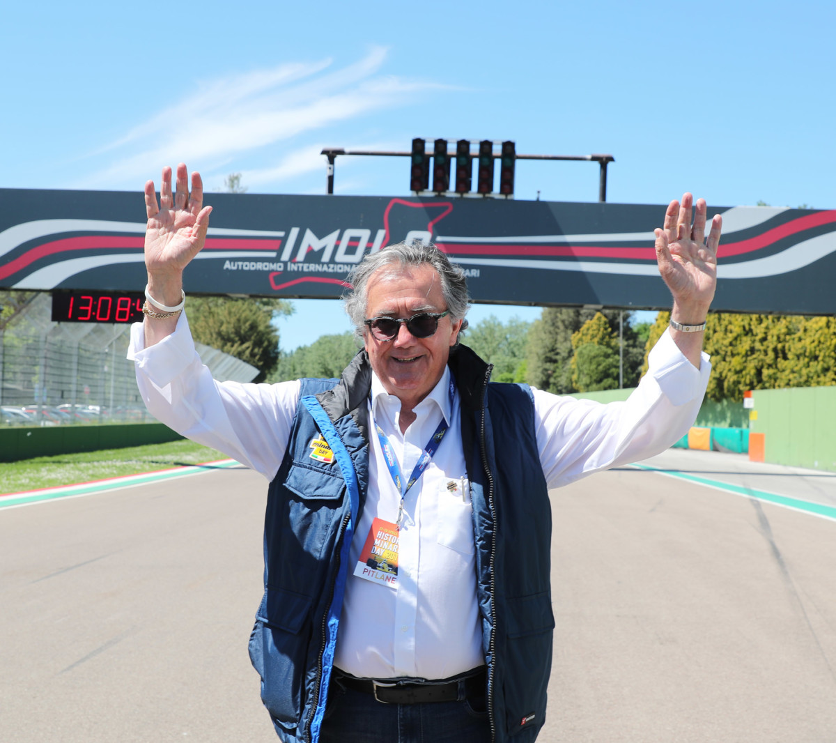 A Imola premio alla carriera a Minardi e Martini