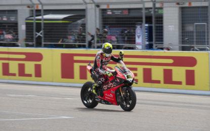 WorldSBK: Bautista e Ducati vincono Gara 1 ad Aragon
