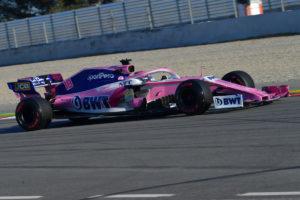 racing point 2019 Barcelona February testing II