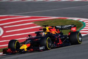 red bull 2019 Barcelona February testing II